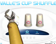 Wall-Es cup shuffle online j�t�k
