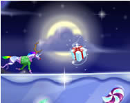Robot unicorn attack Christmas robotos játékok
